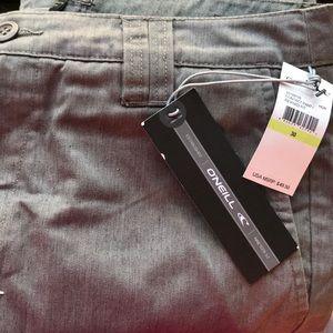 O'Neill contact men's 30 slacks pants gray